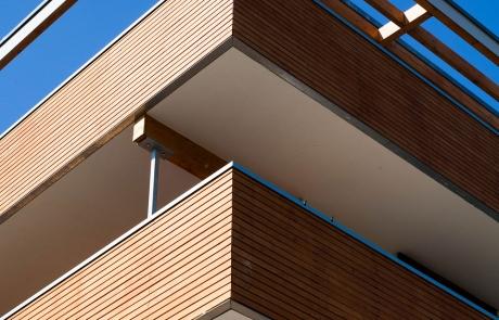FELIX MILDNER Tragwerksplanung | Mehrfamilienhaus in Tübingen, Neubau, 4-geschossig, Holzständerbauweise
