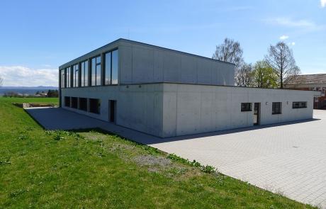 STRÖBEL BILGER MILDNER Ingenieure | Tiefgarage | Turnhalle | Öffentlicher Auftraggeber | Massivbau mit Kerndämmung | Wendelsheim