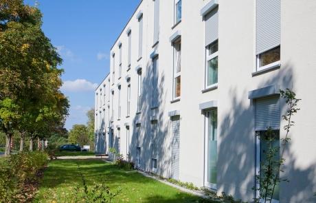 STRÖBEL BILGER MILDNER Ingenieure | Flüchtlingsunterkunft in Tübingen, Neubau, Holzständerbauweise