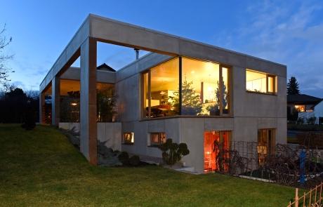 STRÖBEL BILGER MILDNER Ingenieure | Neubau Einfamilienhaus | Privater Bauherr | Fertigteile mit Kerndämmung | Nehren